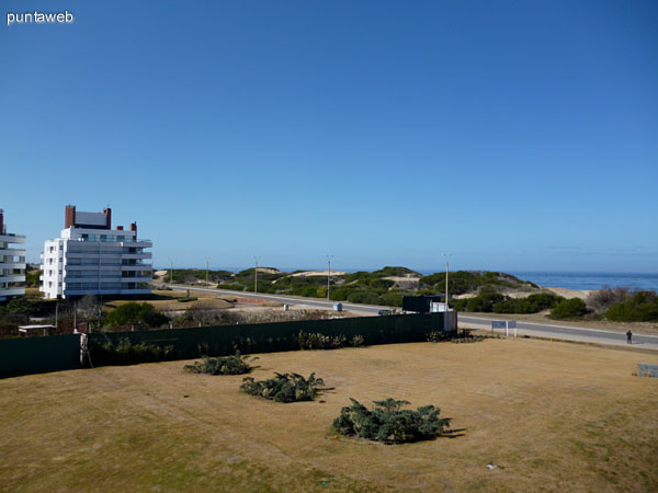 Vistas desde la terraza de la unidad.