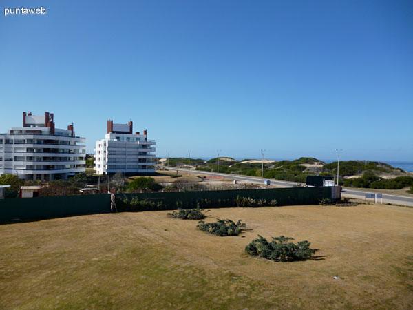 Vistas desde la terraza.