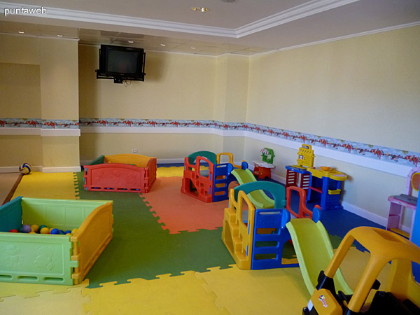 Sala para niños.