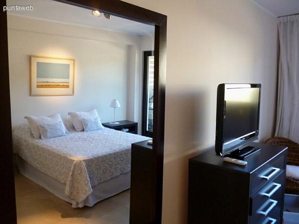 Dormitorio en suite.
