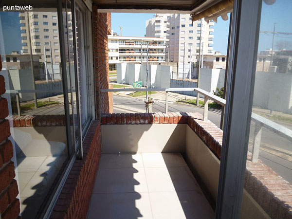 Acceso a terraza.