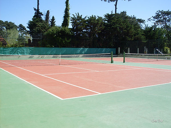 Canchas de tennis.