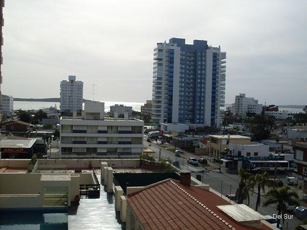 Vista hacia la playa Mansa del segundo dormitorio.