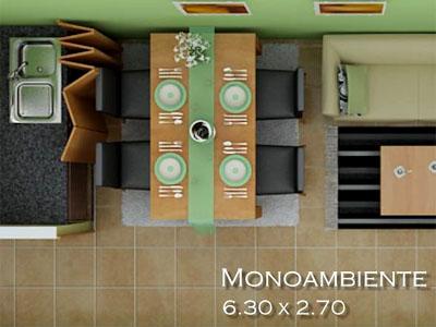 Ba�o de los apartamentos tipo 3