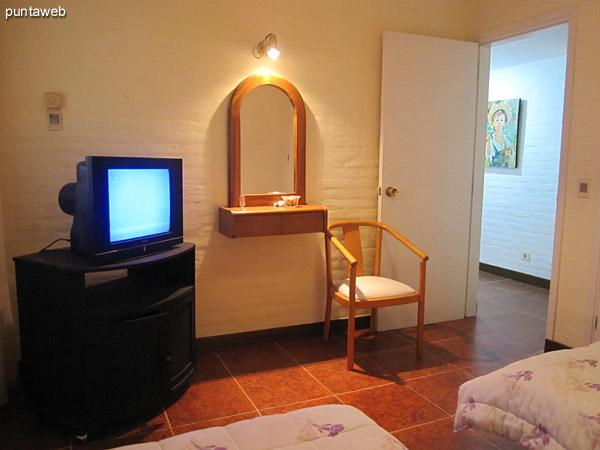 Detalle del segundo dormitorio.