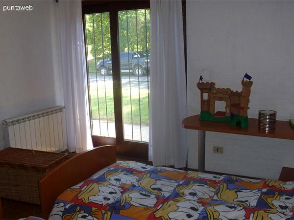 Dormitorio de los chicos.