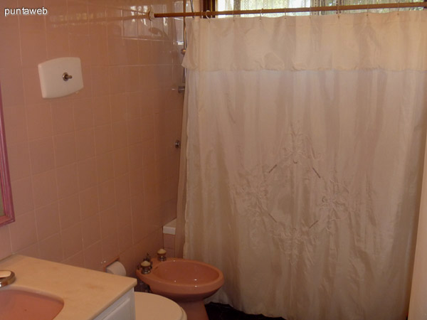 Baño de los dormitorios de Planta Baja.