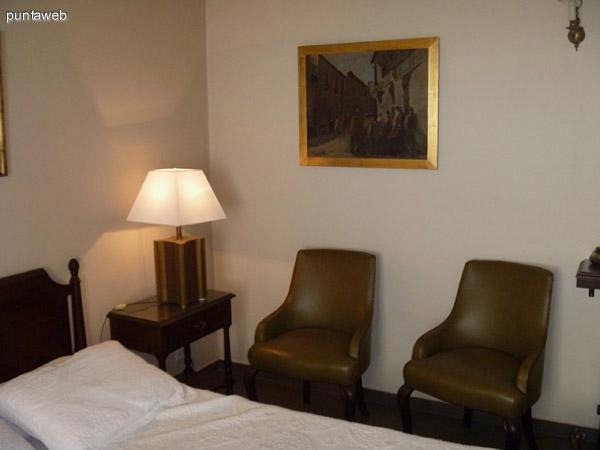Dormitorio principal en suite.