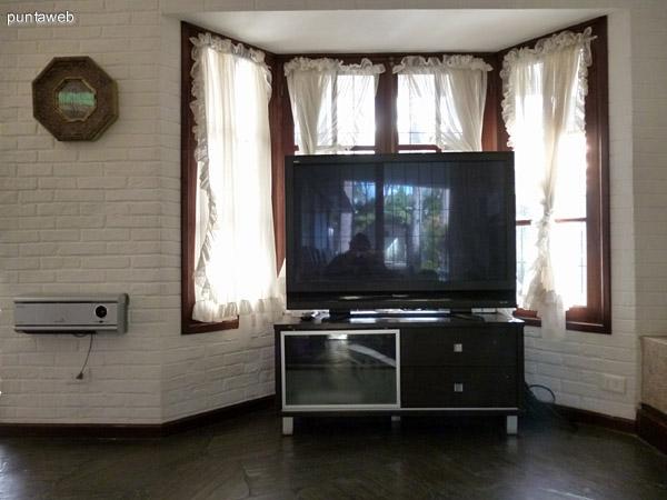 Tv en living.