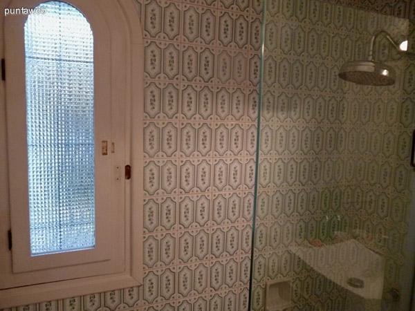 Segundo baño, ventilación exterior.