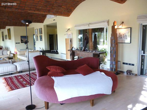 Mobiliario del estar.
