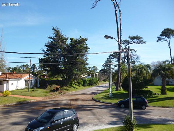 Vista del entorno desde los accesos a la propiedad.