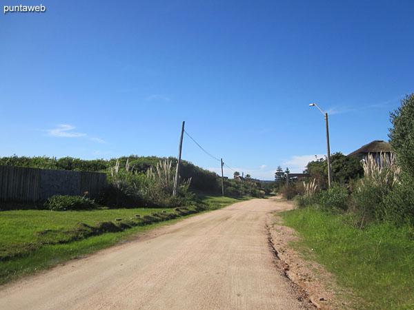 Streets of El Chorro.
