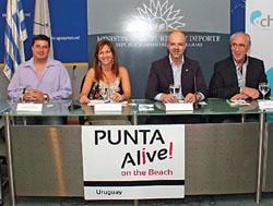 Lanzamiento Oficial en Ministerio de Turismo / Punta Alive Piriápolis 2015